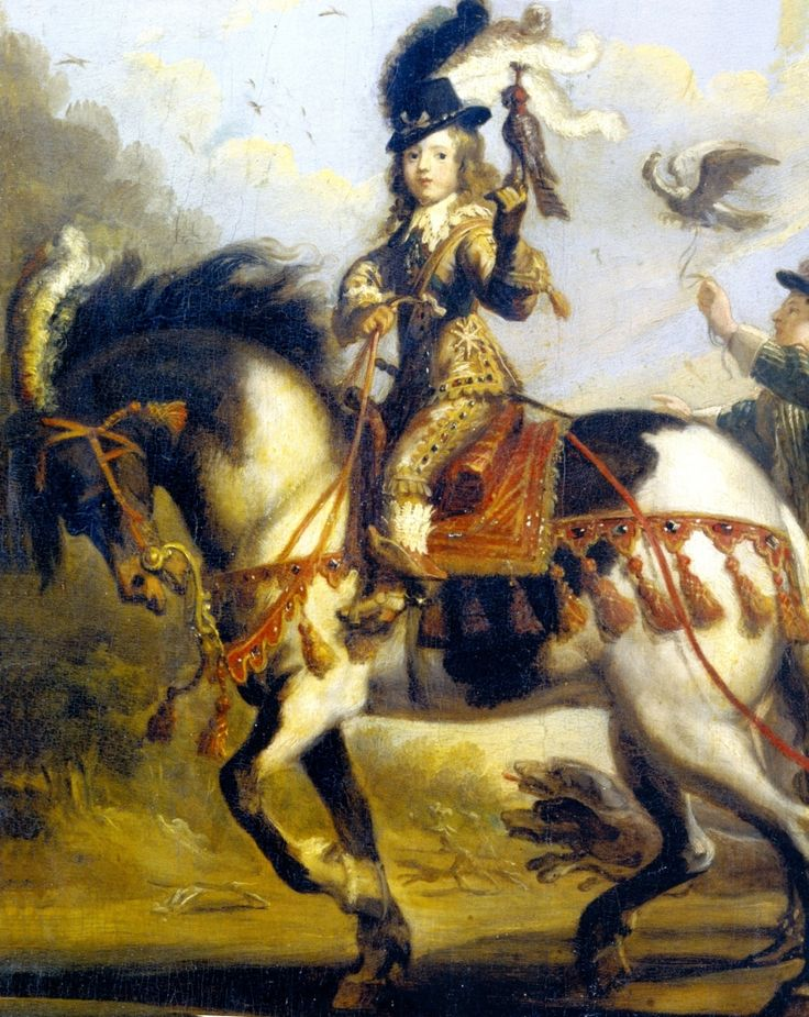 Louis XIV by Jean de Saint-Igny.