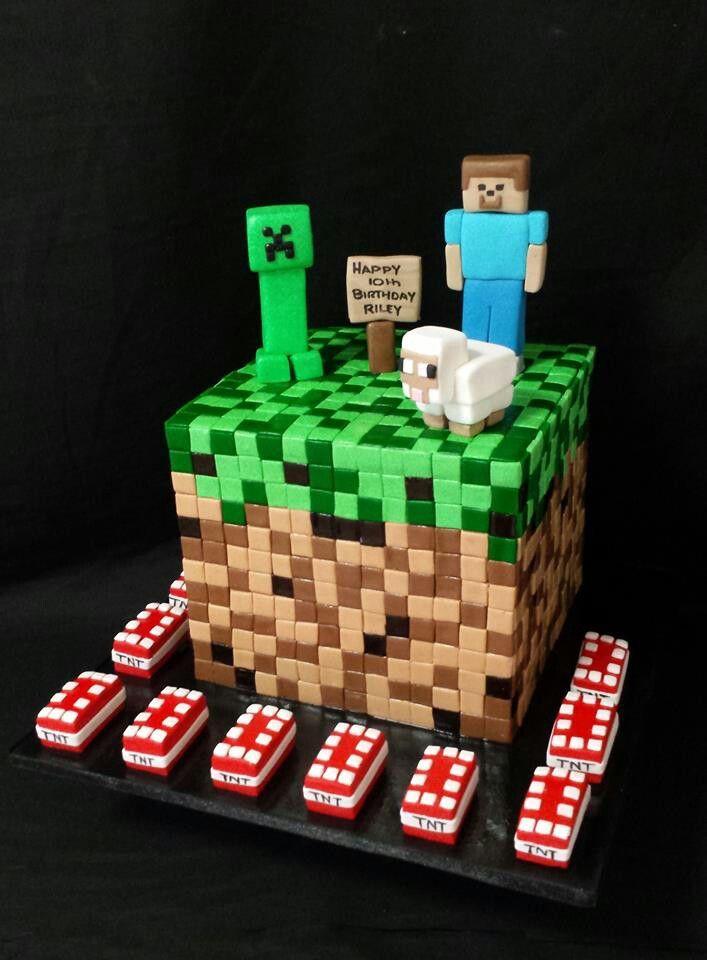 Minecraft Cakes Ideas Pinterest 14675 Minecraft Adrians Ca