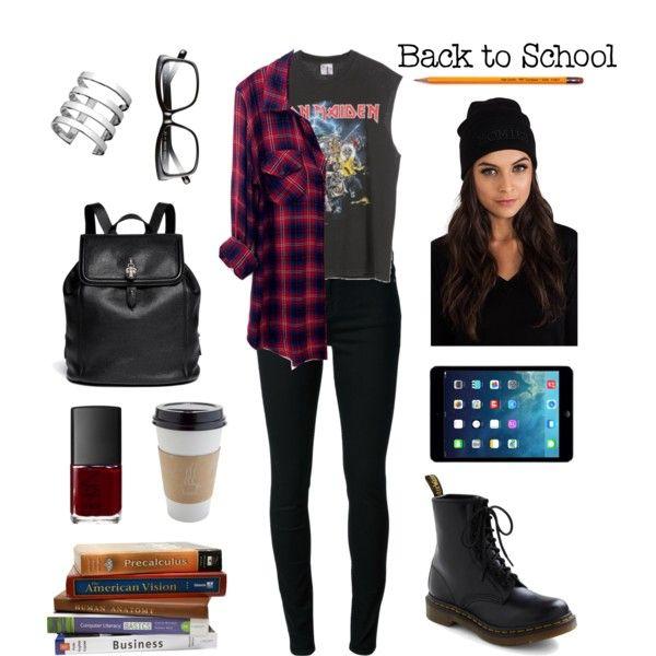 Back to School Grunge | Grunge clothes | Pinterest