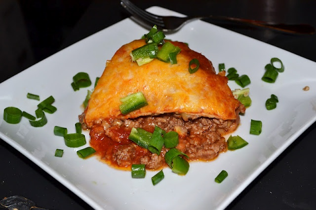 Burrito Pie | Food & Drink | Pinterest