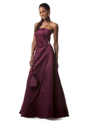 Wine colored bridesmaid dresses ideas diy crafts for Wine colored wedding dresses