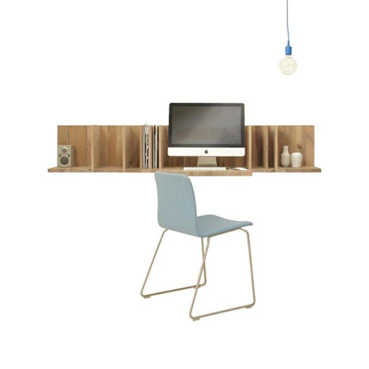Pilat & Pilat Lutgarde  floating corner desk  Pinterest