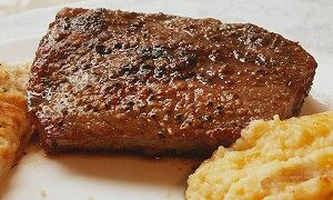 Grilled Texas Broil Steak | Yummmm!!!!! Food | Pinterest