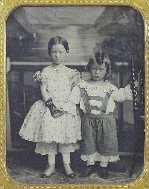 Baltimore Sister & Brother - Ambrotype by Marston by Photo_History, via Flickr