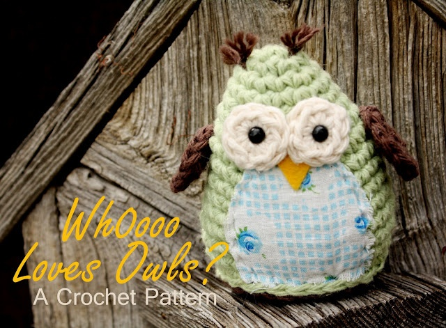 Owl - free crochet pattern Crochet patterns/projects Pinterest