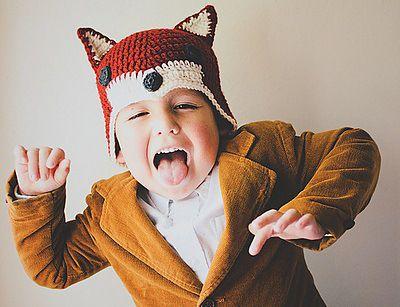 Sly Fox Hat, de Lisa Gutierrez. http://www.ravelry.com/patterns/library/sly-fox-hat