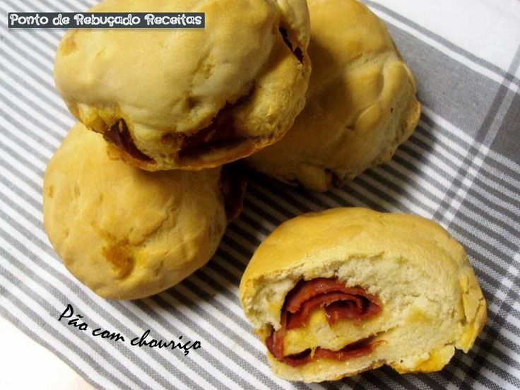 Chorizo Rolls (Pao Com Chourico) Recipes — Dishmaps