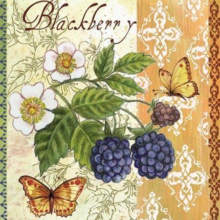 Blackberries ~ Elena Vladykina