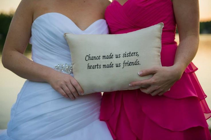 Sister wedding gift Wedding Ideas Pinterest