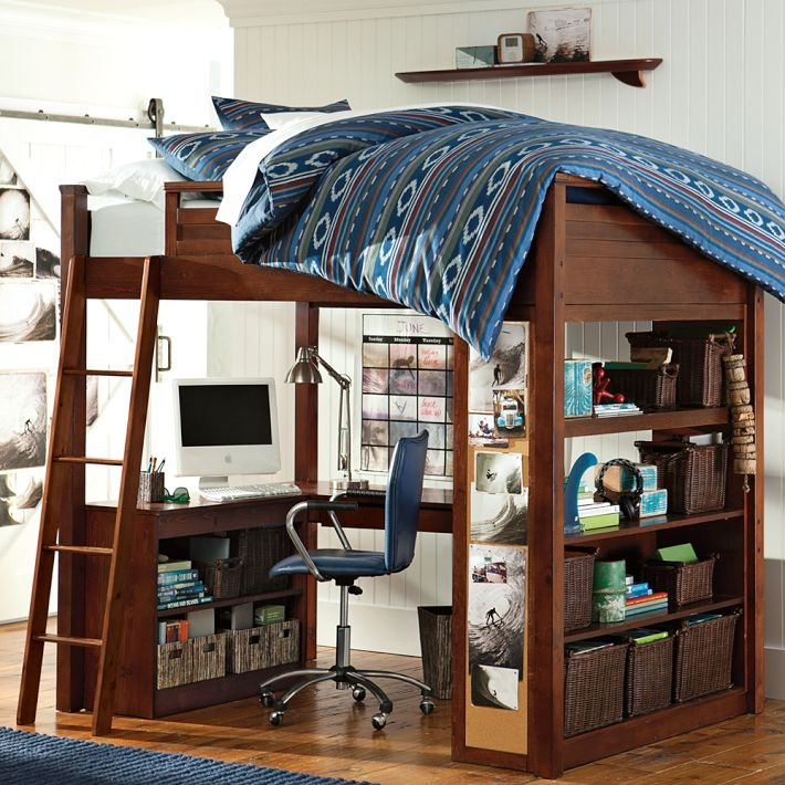 Pottery Barn Sleep Study Loft Bed 710 x 710
