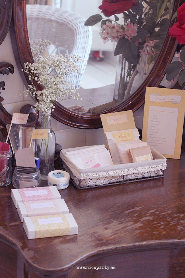 Decoracion Baño Boda:Nice Party Kit de baño para bodas