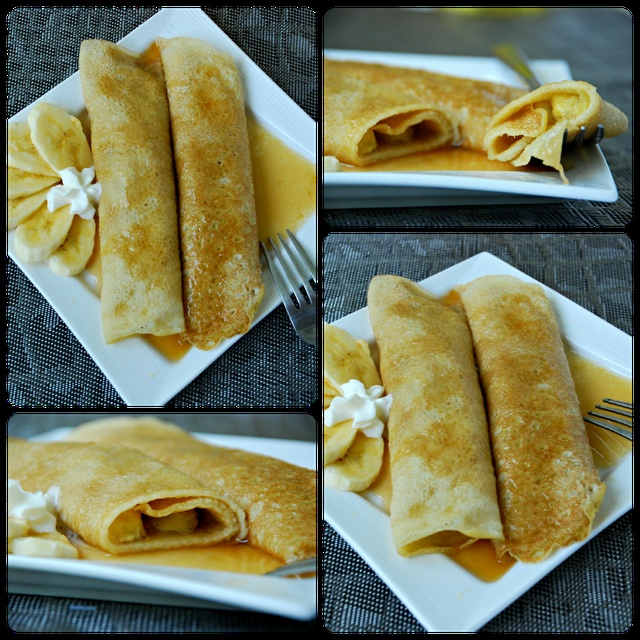 Bananas Foster Crepes | Get Your Nom On | Pinterest