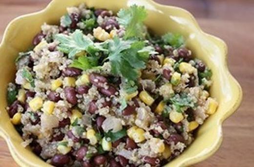 Vegan Quinoa and Black Beans   food & drinks   Pinterest