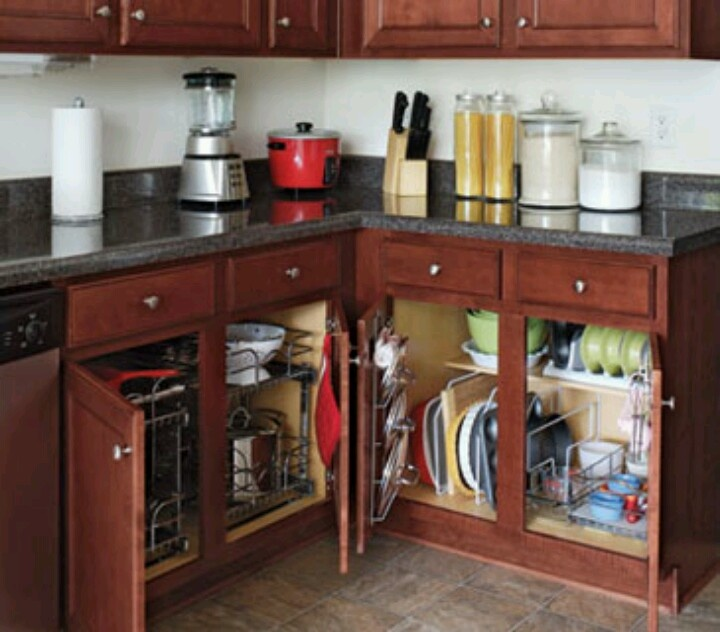 Organized cabinets home decor pinterest Organizing kitchen cabinets