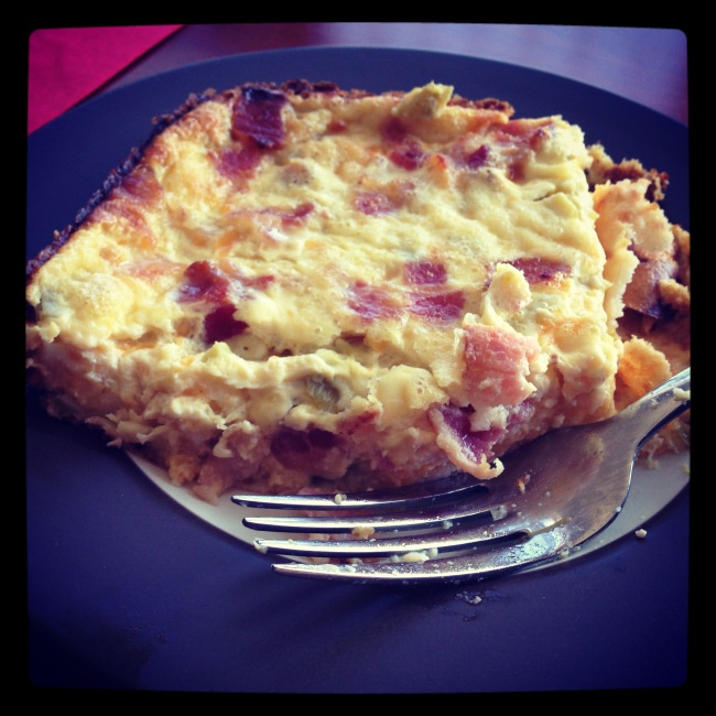 Green Chile and Cheese Egg Bake | Recipe Box | Pinterest