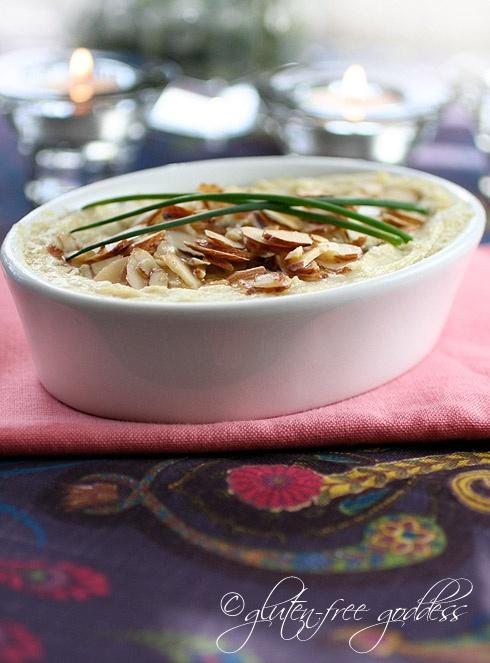 Vegan Hot Artichoke Dip- gluten-free dairy-free.