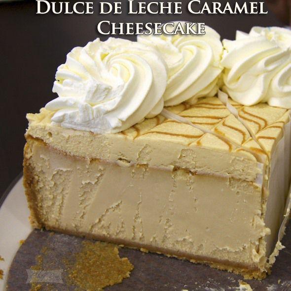 Dulce de Leche Caramel Cheesecake | Food | Pinterest