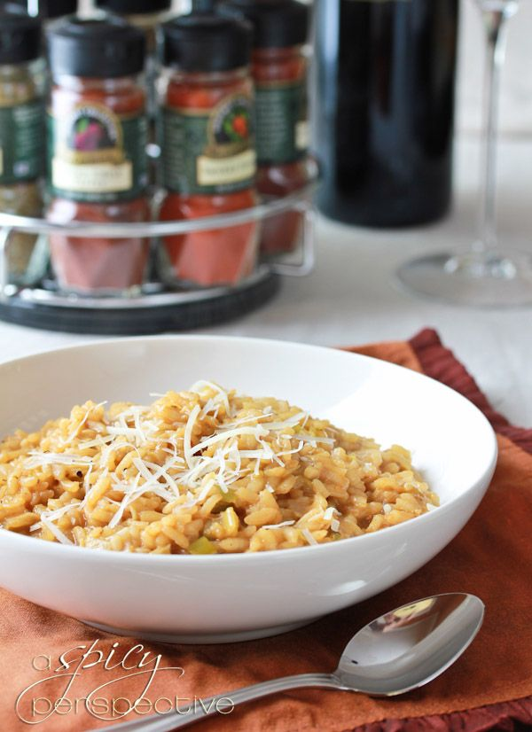 We love this Smoky Leek Risotto from our friend @Sommer | A Spicy ...