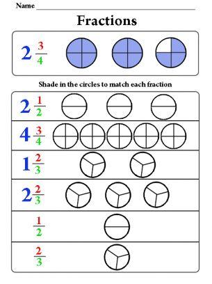 shading fractions worksheet chey pinterest. Black Bedroom Furniture Sets. Home Design Ideas