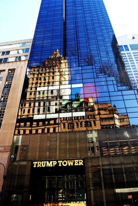 Trump Tower New York City Pinterest