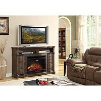 Sam's Club Electric Media Fireplaces