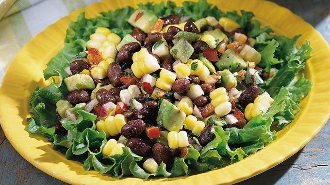Progresso® black beans feature in this tasty salad packed with corn ...