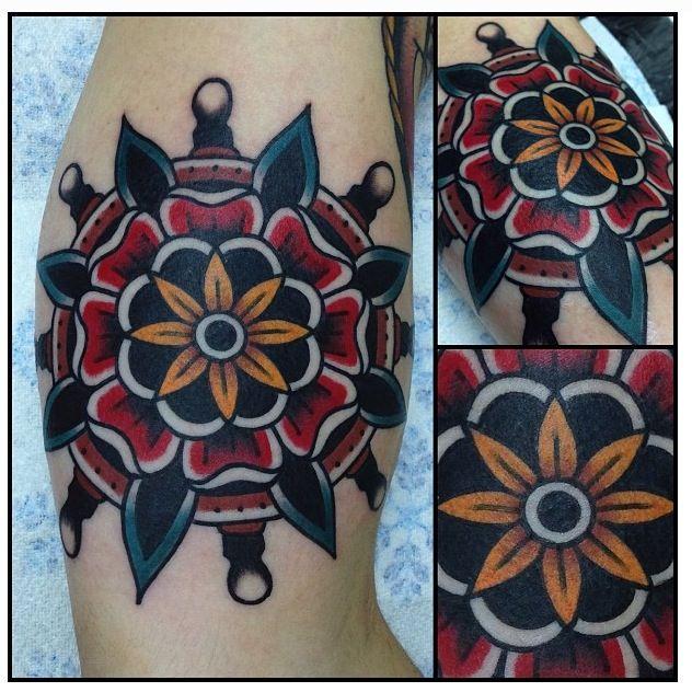 Flower traditional americana tattoos pinterest for Traditional americana tattoos