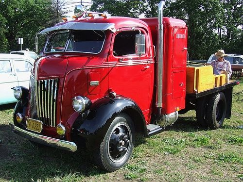 Ford COE. | Cool old ford trucks | Pinterest