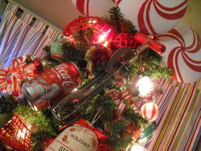 Kitchen Tree Decorations Christmas Pinterest