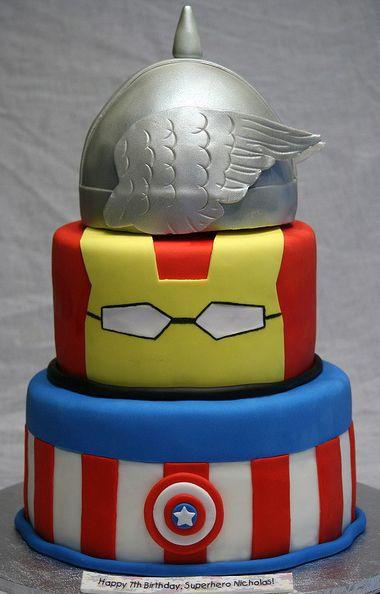 Super Hero's Cake