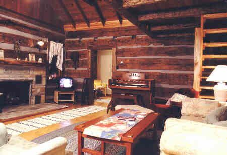 Interior Decorating Rustic Log Cabin Interior Decor Forest Home