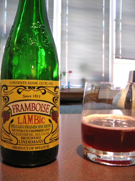 Raspberry Lambic our fave! (this was what we used for the toasts at ...