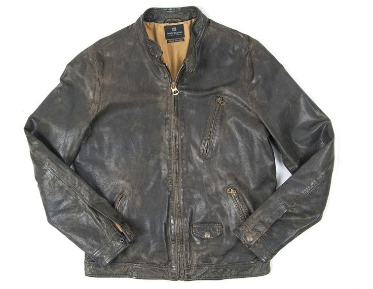 scotch soda leather jacket gear pinterest. Black Bedroom Furniture Sets. Home Design Ideas