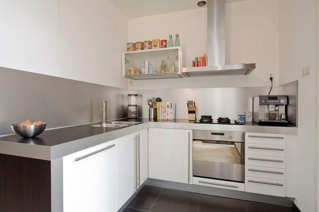 Moderne open keuken met inbouwapparatuur  VERKOCHT: Nieuwe Prinsengr ...