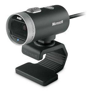#5: Microsoft LifeCam Cinema 720p HD Webcam - Black