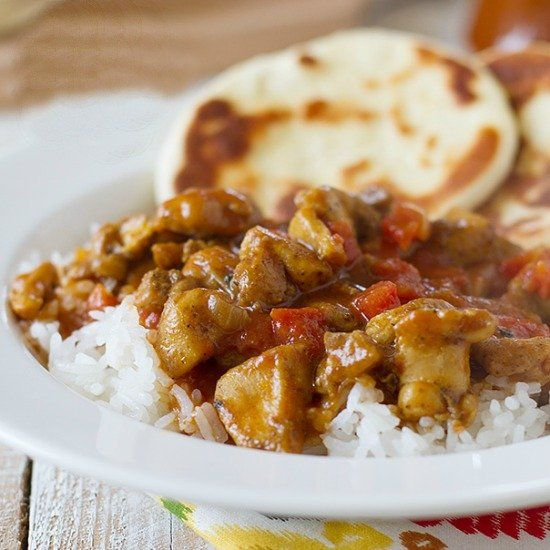 Curried Coconut Chicken. | yummy | Pinterest