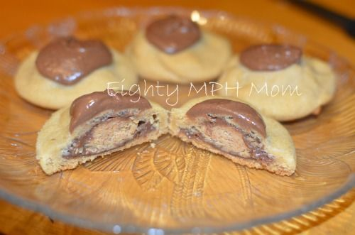 Peanut Butter Cup Surprise Cookie | Tummy Yummy's | Pinterest
