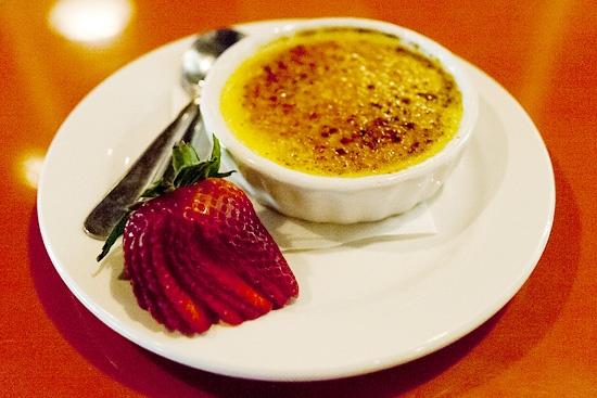 Simple Crème Brûlée at FEZ - Chow Bella | Food | Pinterest