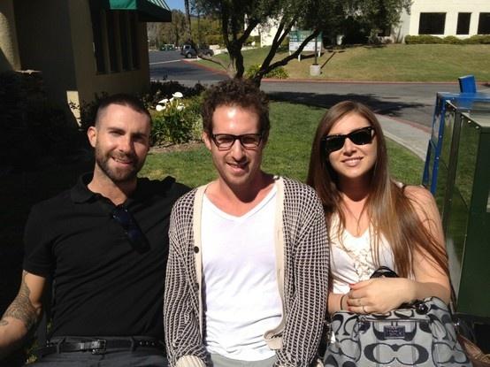 Family time with Adam Levine | Adam Levine Maroon 5 ...