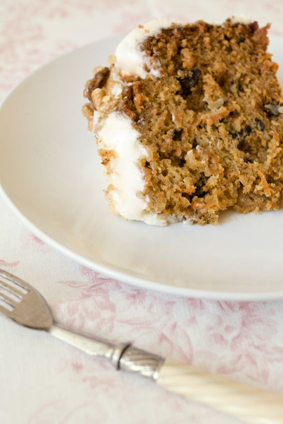 Carrot cake with orange blossom icing | Carrot Cake Obsession | Pinte ...