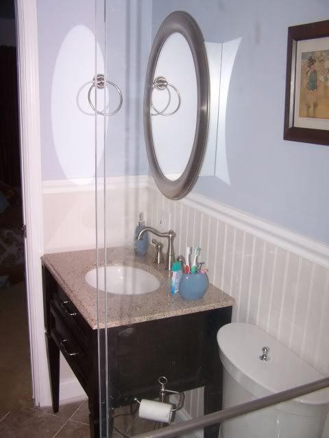 Wainscoting In The Bathroom Bathrooms Pinterest