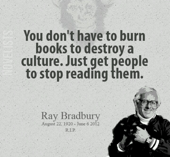 a biography of ray bradbury and his most famous novel fahrenheit 451 Why fahrenheit 451 is supremely relevant to the times we bradbury was speaking about his most famous book, fahrenheit 451 fahrenheit 451, ray bradbury.