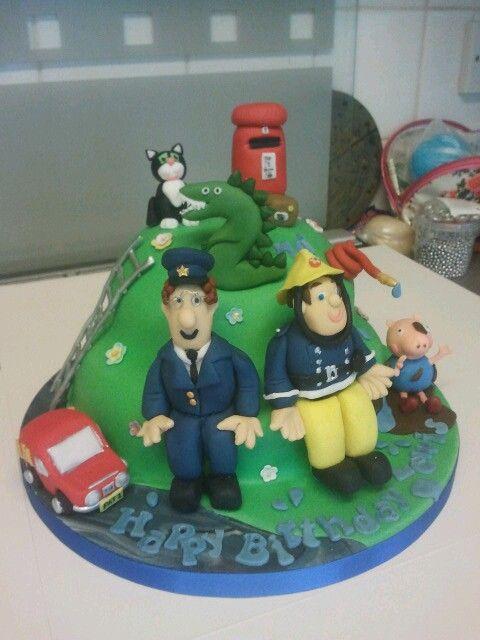 Kids character birthday cake cakes Pinterest