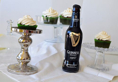 Chocolate Guinness Cupcakes - Delicious ! Tastes like a Guinness ...