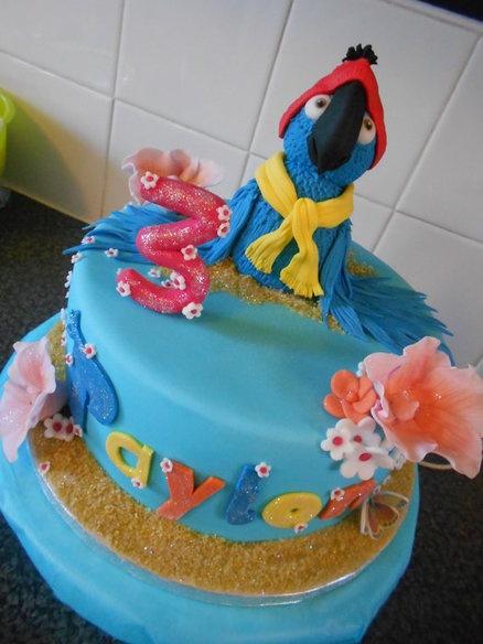 Rio Theme Cake  Cake by nicolascakes