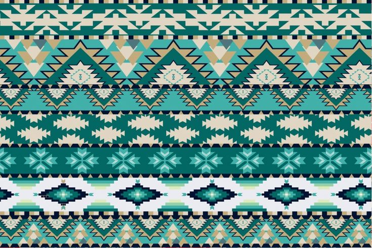 green aztec pattern design inspiration pinterest