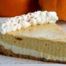 Double Layer Pumpkin Cheesecake | good stuff | Pinterest