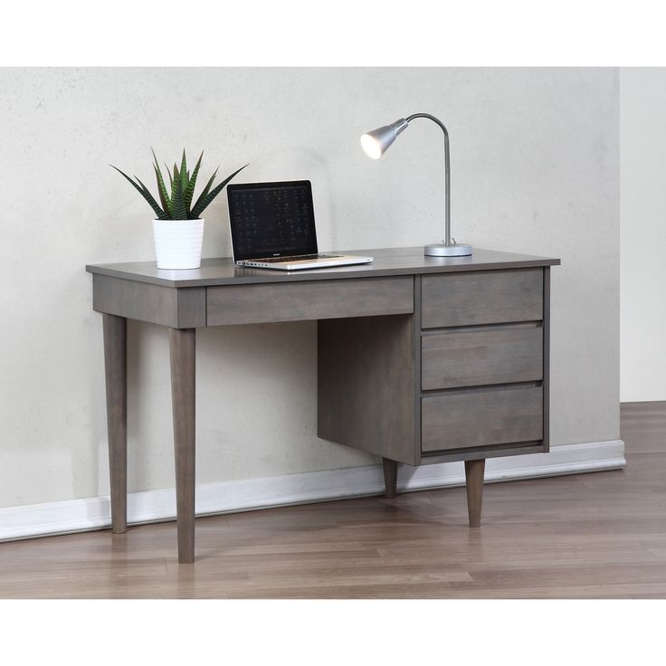 Desk Grey | Overstock.com Shopping - Great Deals on Desks $337.49