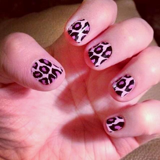 cheetah nailsss