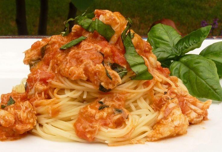 Pasta With A Saffron Mascarpone Sauce Recipe — Dishmaps